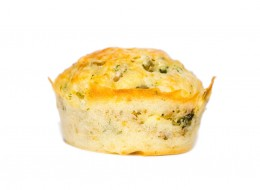 Muffins mit Pflaumen Camembert