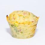 Vegetarischer Gemüse Muffin