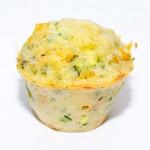 Muffins mit Kräuter und Zucchini
