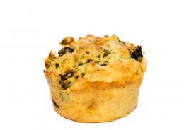 Muffins mit Röstzwiebeln