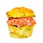 Mit Mett gefüllte Muffins