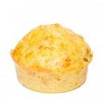 Muffin mit Feta gefüllt