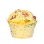 Scharfe Muffins mit Paprika und Chili