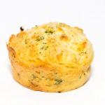 Muffin mit Schinken und Knoblauch