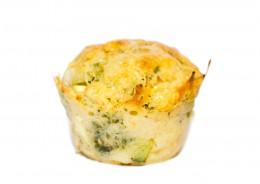 Muffins mit Zucchini und Feta
