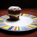 Muffins mit Amaretto-Aroma