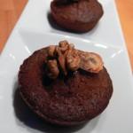 Muffins mit Bananen und Nüssen