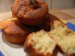 Muffins mit Raffaello-Füllung