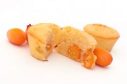 Muffins mit Kumquats