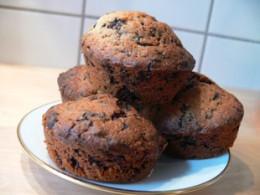 Muffins mit leckerer Schokolade