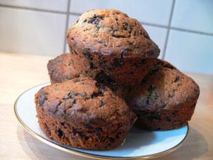 kaffee nuss muffins