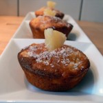 Muffins mit Ananas und Kokosflocken