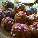 Muffins mit aromatischer Schokolade