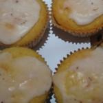 Muffins mit Zitronen und Buttermilch